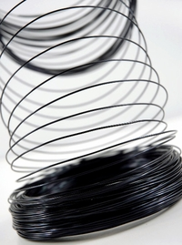Aluminum Wire Black 1.0mm 158 feet