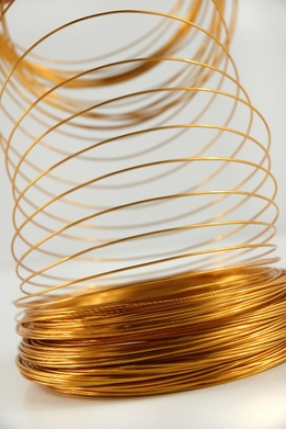 Aluminum Wire Gold 1.0mm 158 feet