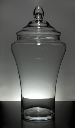 Apothecary Jars 22 in. Glass
