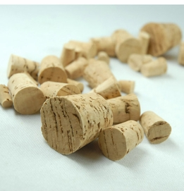 Assorted Corks 30 pieces Sizes 0, 2, 4, 6, 8, 12, 14 (30 cork stoppers)