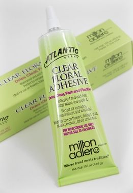 Atlantic Brand� Clear Floral Adhesive 1.55 oz Tube