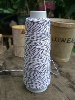 Bakers Twine Brown & White 100 yards