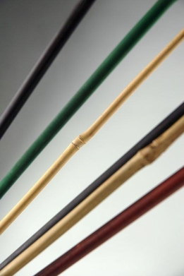 Bamboo Poles 24in Assorted Colors (6 sticks/bundle)