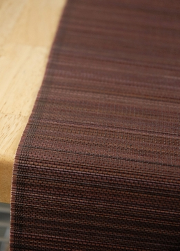 Bamboo Table Runners 72 x13 Chocolate Brown