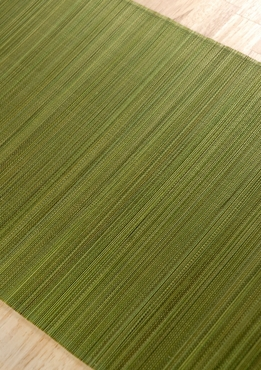 Bamboo Table Runners 72 x13 Olive Green
