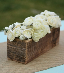 Barnwood Flower Boxes