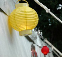 Battery operated LED lanterns