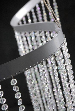 Flexible Crystal Curtain 9ft