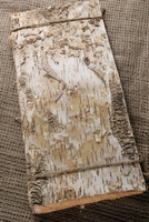 "Birch Bark Sheets 15"" long x 6.75"" wide (6 pieces/pkg)"