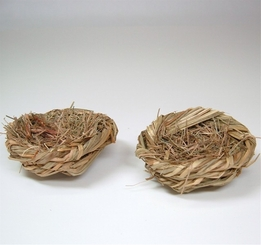 "Birdnests Grass 2.5"" (6 nests)"