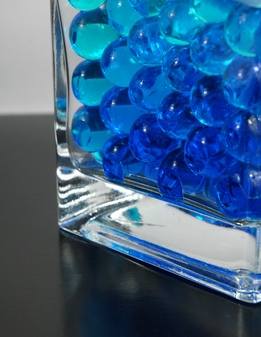 Blue Jumbo Water Pearls