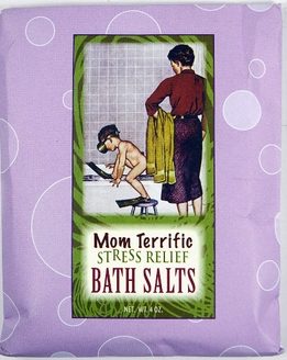 Bluebird Bath Packaged Bath Salts: Mom Terrific