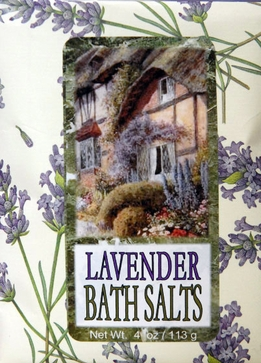 Bluebird Bath Salts Lavender