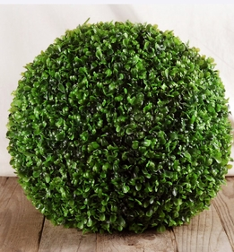 "Boxwood Balls 14"" Artificial"