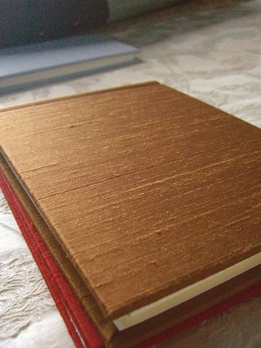 Brown Dupioni Silk Photo Frame Albums