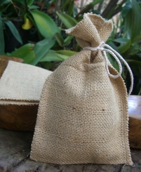 Burlap Bags with Selvage Edge 12pk