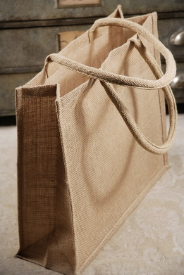 Burlap Tote Bags 15in (Pack of 6)