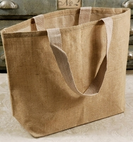 Burlap Bags with Handles 20x14