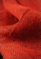 "Burlap Fabric Persimmon Orange 36"" width 5 yards"