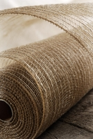 "Burlap Mesh 21"" wide x 10 yards"