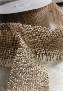 Burlap Ribbon 2.5in