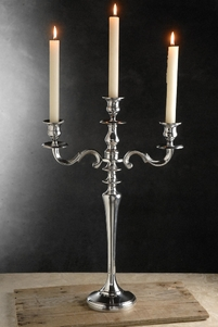 "Candelabras 3 Candle 20.5"" tall"