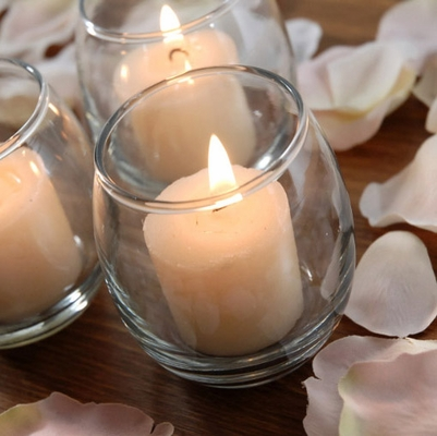 Candle holders and candle shades