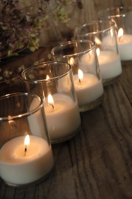Candleholders and Candles