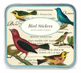 Cavallini Bird Stickers (100 stickers)