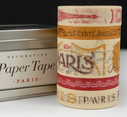 Cavallini Decorative Paper Tape Paris (5 rolls asst)