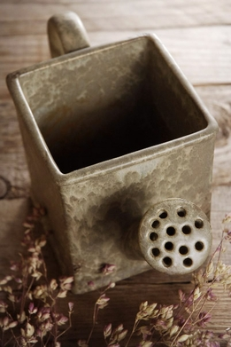 Ceramic Watering Can Planter Vase