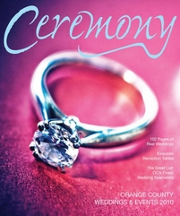 Ceremony Magazines Orange County 2010