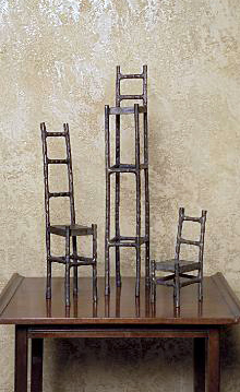 Chair Sculptures (set of 3)