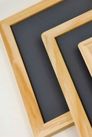 Wood Framed Blackboards 8.75x11.5 (Pack of 6)