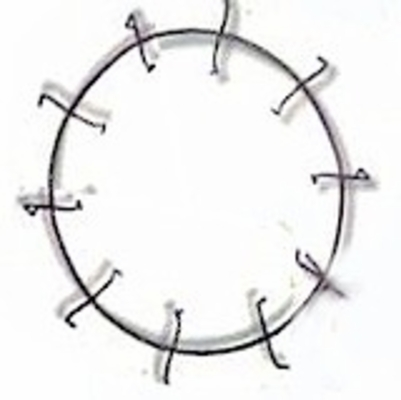 Clamp Style EZ Wire Wreath Frames