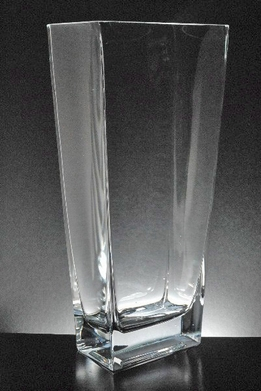 Tapered Rectangle Vase 13in