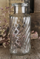 Clear Glass Bottles 5.5""