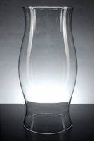Clear Glass Hurricane Candle Shades 11-1/2 in.