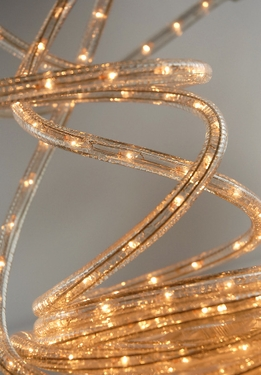 Clear Rope Lights | 18 Ft