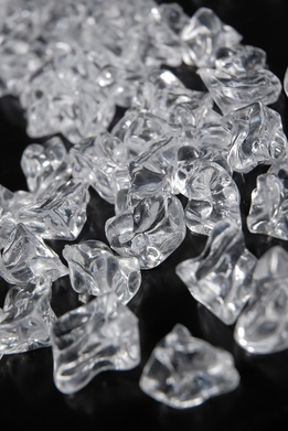 Clear Vase Gems Crystal Ice 3-3/4 lbs ( 480 pieces)