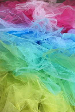 Color Fine Tulle Bolts