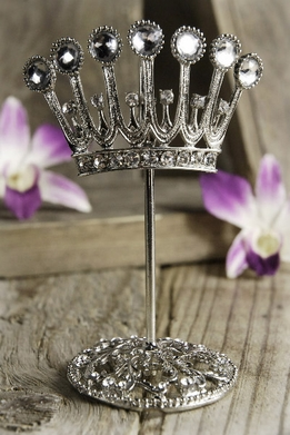 Crystal Crown Name Card Holders