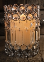 Crystal Glass Candle Holders