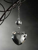 Crystal Heart Hanging Glass Crystal