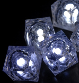 Crystal Light Cubes White 3-mode (8 cubes)