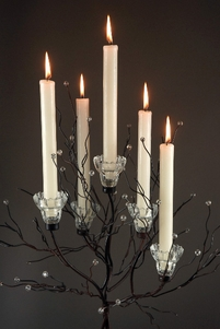 "Crystal Tree Candle Holders 32"" (two trees )"