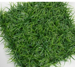 "Curley 10"" Square Grass Mats on Plastic Grid"