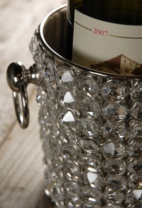 Diamond Crystal Wine Chiller Champagne Bucket
