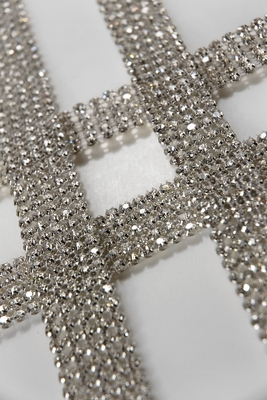 Diamond Ribbon Wrap & Adhesive Gems