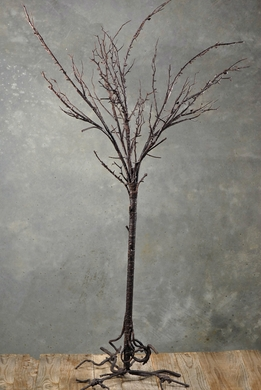 Display Tree With Root Base Brown 50in